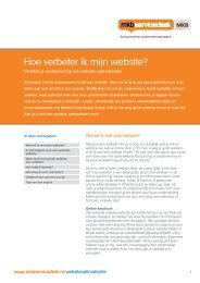 Hoe verbeter ik mijn website? - Marbella Dutch Business Club
