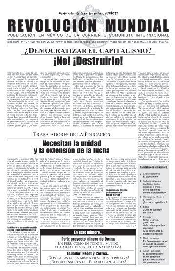 Â¡No! Â¡Destruirlo! - Corriente Comunista Internacional