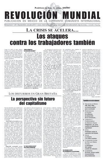 Los ataques contra los trabajadores también - Corriente Comunista ...