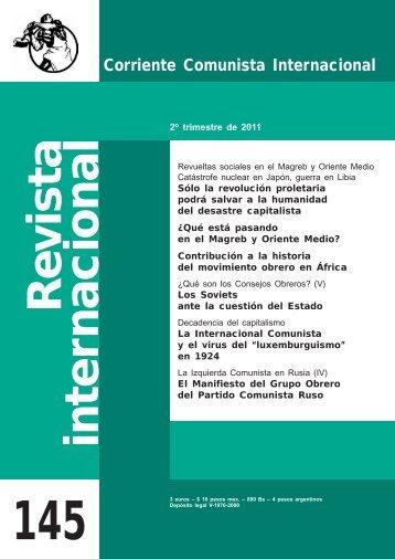 revista internacional 145 web.pdf - Corriente Comunista Internacional