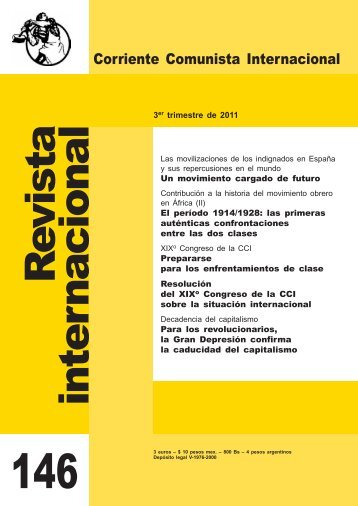 revista 146 pour web bd.pdf - Corriente Comunista Internacional
