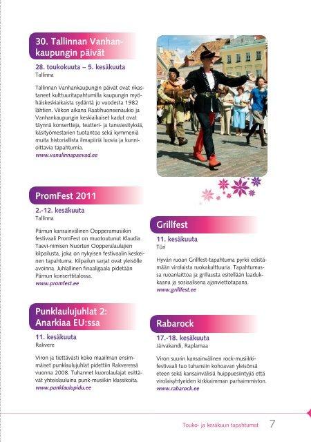 Kulttuuri kutsuu! - Visitestonia.com