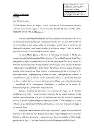 1 Sikuris de Susques Reseña Por Adriana Luengo SESSA, Martín ...