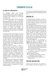 IDEARIO E.E.A. - Scouts MSC