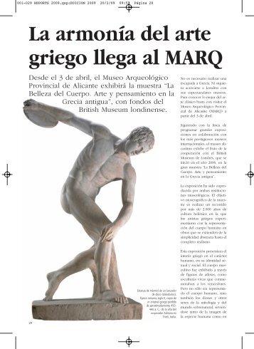 La armonía del arte griego llega al MARQ - Anuarios Culturales