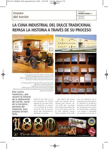 Museo del Turrón - Anuarios Culturales