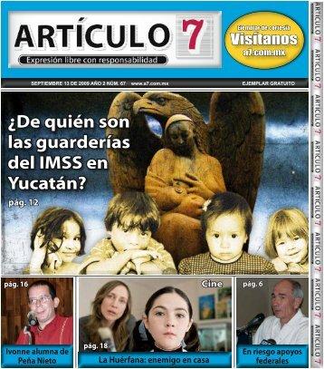 ¿De quién son las guarderías del IMSS en Yucatán? - a7.com.mx
