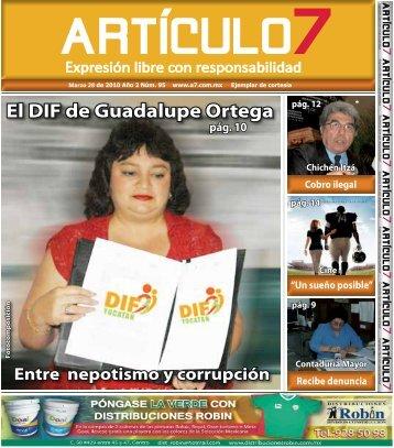 El DIF de Guadalupe Ortega - a7.com.mx