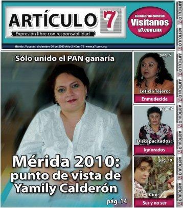 Mérida 2010: - a7.com.mx