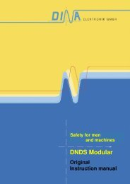 DNDS 1PM - Safety for men and machines