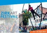 ZirkArt Festival 2014 Bildband