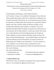 Barrieren überwinden – Wohnwünsche ... - Kulturserver NRW