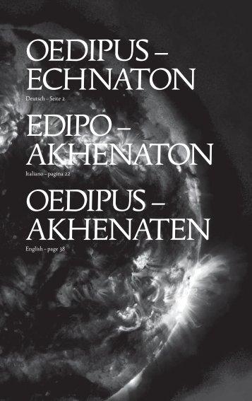 Tutti i testi teatrali di Akhenaton e EDIPO in formato PDF in ... - uncool