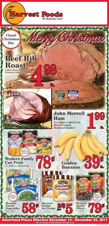 Beef Rib Roast - URM Stores, Inc.