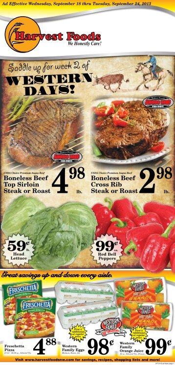 Harvest 2013-09-18 - URM Stores, Inc.