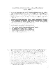 Lineamientos de política para la formación ... - Chalena Vásquez