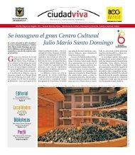 Se inaugura el gran Centro Cultural Julio Mario Santo ... - Ciudad Viva
