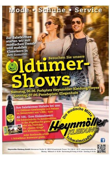 Oldtimer- Shows und Mode zur Salatkirmes