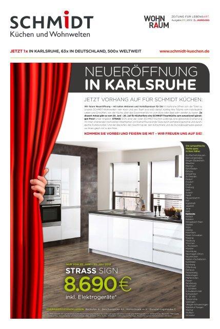 Schmidt Kuchen Karlsruhe Wohnraumzeitung