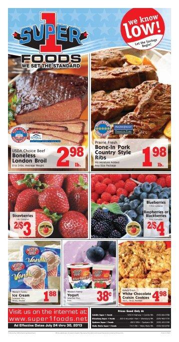 Super1 2013-07-24 - URM Stores, Inc.