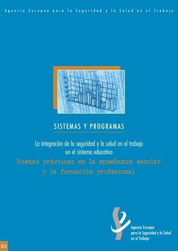 Informe - La integración de la seguridad y la salud en el trabajo en ...