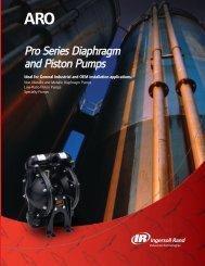 ARO Diaphragm and Piston Pumps