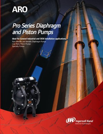 ARO Diaphragm and Piston Pumps