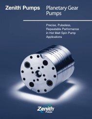 Planetary Gear Pumps - LUBOSA