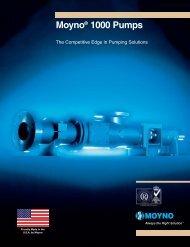 Moyno 500 series brochure - MacEwans Pumping Systems