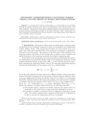 Stochastic complementation, uncoupling Markov chains, and the ...