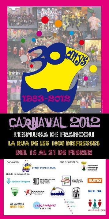 CARNAVAL 2012 - Conca de Barberà