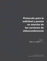 Videoconferencia - Centro Nacional de las Artes CENART