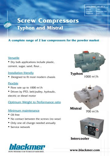 Click here to download Typhon and Mistral screw ... - Aquapump.co.za