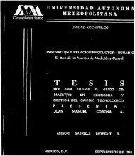 ~ - METROPOLITANA - División de Ciencias Sociales y Humanidades