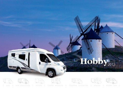 Reisemobile 2012 - Hobby Caravan