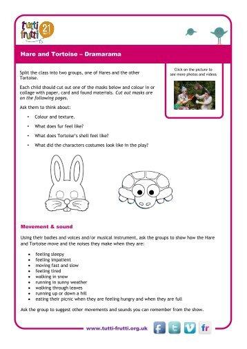 Hare and Tortoise – Dramarama - tutti frutti productions
