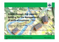 SHARE Project: the capacity building for the ... - Ev-K2-CNR