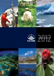 Annual Report 2012 - Ev-K2-CNR