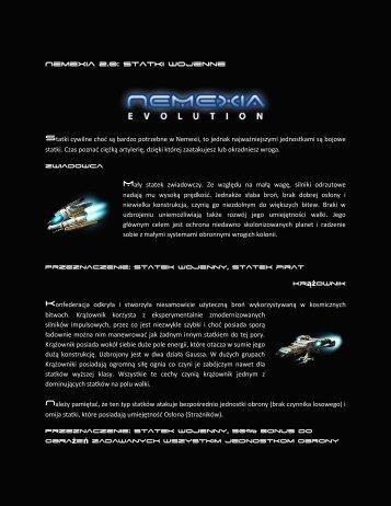 Nemexia 2.0: Statki wojenne