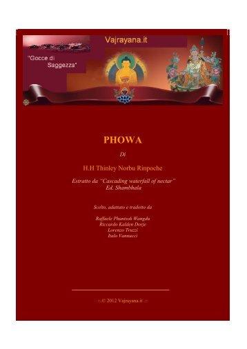 phowa - Vajrayana.it