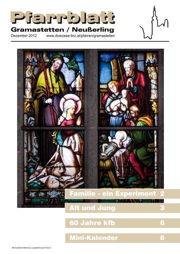 Pfarrblatt Ausgabe Dezember 2012