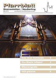 Pfarrblatt Ausgabe März 2014