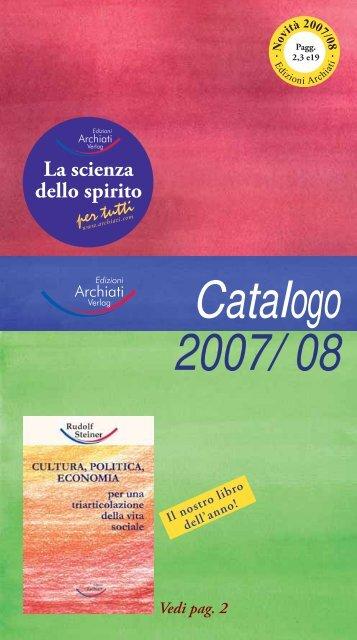 2007/08 Catalogo - Libera Conoscenza