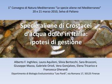 Alberto Inghiliesi, Laura Aquiloni, Silvia Bertocchi, Sara Brusconi ...
