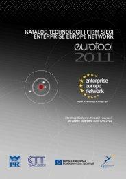 Katalog firm - Eurotool 2011 - Centrum Transferu Technologii