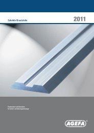 Katalog Zubehoer und Ersatzteile zum Download - AGEFA GmbH
