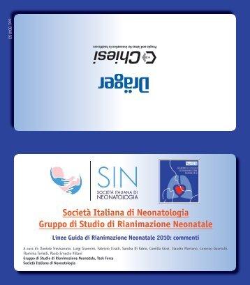 2. algoritmo della rianimazione neonatale 2010 - Società Italiana di ...