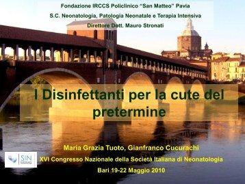 M.G. Tuoto (Pavia) - Congresso 2010 - Società Italiana di ...