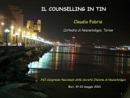 C. Fabris (Torino) - Congresso 2010 - Società Italiana di Neonatologia