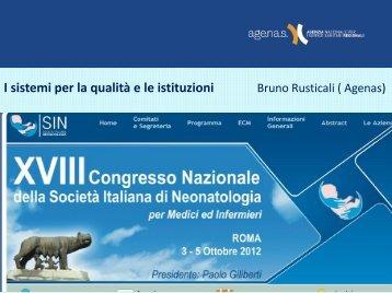 Bruno Rusticali (Roma) - Informazione